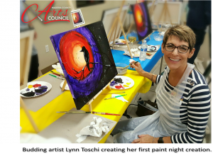 MCAC's Bottles & Brushes Paint Nights are Building Momentum