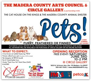 """MCAC Readies New Exhibit """"PETS"""" in Partnership with the Cat House on the Kings"""